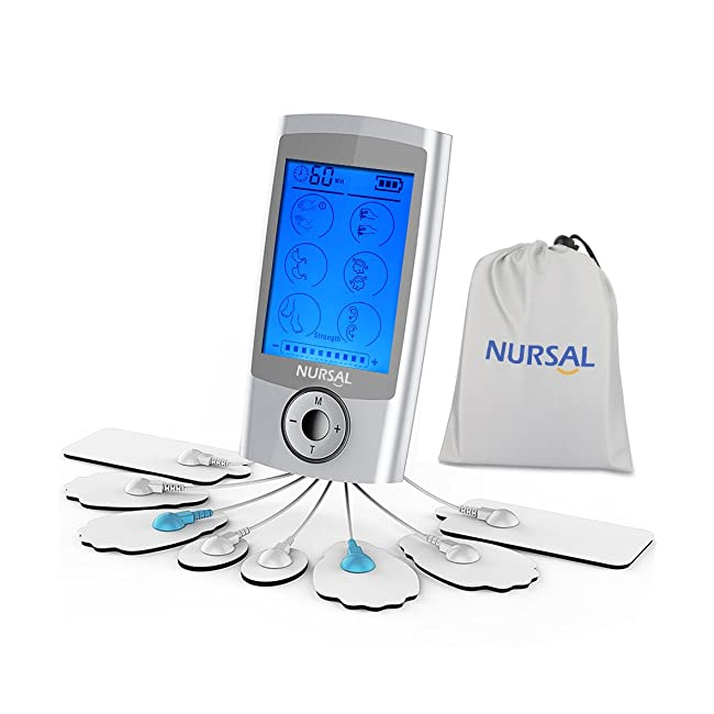 NURSAL TENS Unit Rechargeable FAD Cleared Elec...