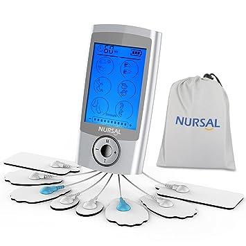 Tylko na zewnątrz Amazon.com: NURSAL TENS Unit Muscle Stimulator with 8 Electrodes XX32