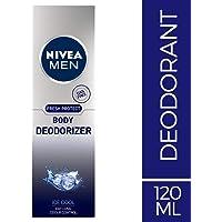 NIVEA MEN Body Deodorizer, Ice Cool, 120ml