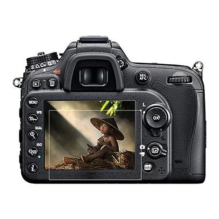 Zinniaya Protector de Vidrio Templado para Nikon D3100 D3200 D3300 ...