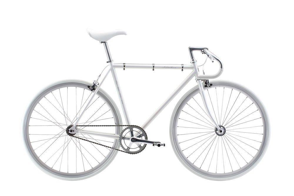 FUJI(フジ) FEATHER 54cm シングル AURORA WHITE ロードバイク 2018年モデル 18FETRWH AURORA WHITE 54cm B075SZ1GZR