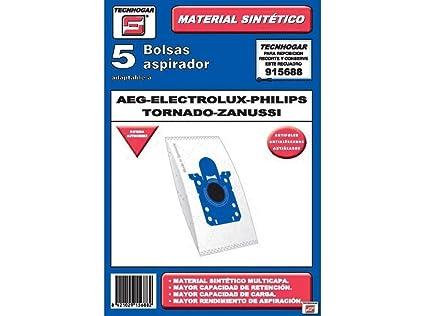 Amazon.com: Tecnhogar 177Y6 Vacuum Cleaner Bag for AEG ...