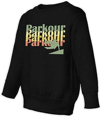 JRJdiy Vintage Retro Style Parkour Silhouette Baby Children 2-6 Toddler Sweatshirt