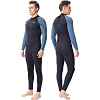 DEHAI Men Women's Full Wetsuits Thermal Suit Sleeves 3mm Neoprene Youth Adult's Diving Swimming Snorkeling Surfing Scuba…