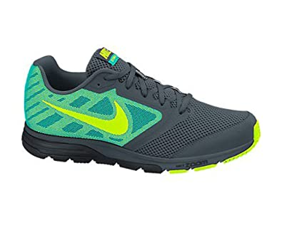 New Nike Mens Zoom Fly Running Shoes Grey/Jade/Volt 7