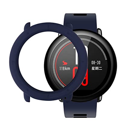 Amazfit Pace Case SIKAI Shockproof Anti-Scratch Protective Bumper Cover for Huami Amazfit Pace SmartWatch (Midnight Blue)
