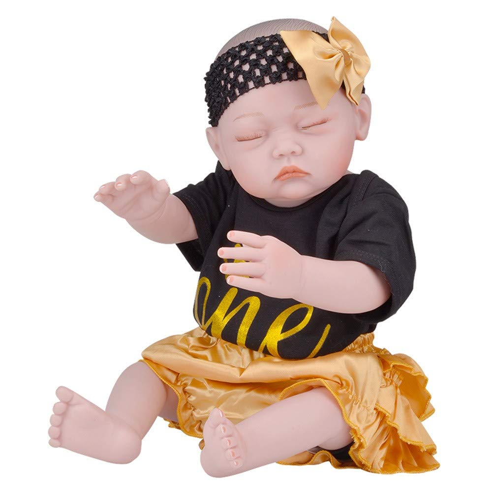 Birdfly Type:8007 Reborn Toddler Smile Baby Doll Sit Lovely Girl Silicone Lifelike Toy 3-7 Days Arrive Ship by DHL