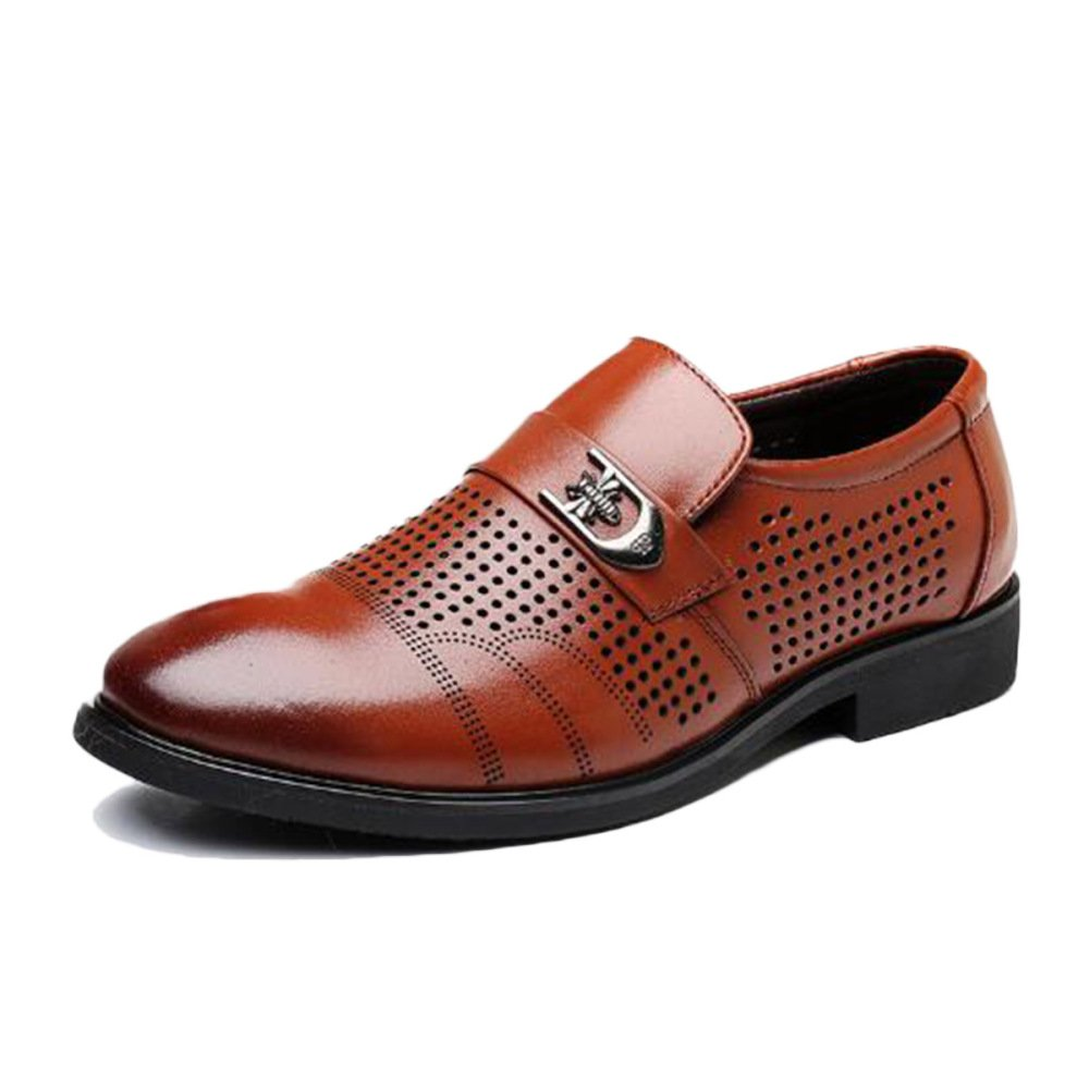 Zapatos De Cuero Masculinos Corbata Negra Comercio Formal Suave ...