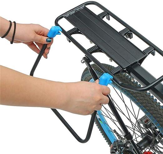 ZXLIFE@@ Estante para Bicicletas Trasero, Estante para Postes del ...