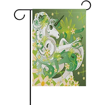 amazon com staromil spring unicorn personalized garden flags