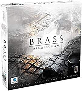 Roxley Games Passport Games Current Edition Brass Birmingham Board Game