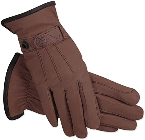 Elastic Breathable Equestrian Gloves for Man/Women/Children [SSG] Picture