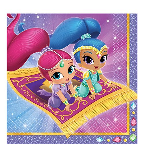 Shimmer Party Napkins - 4