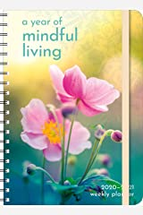 "A Year of Mindful Living 2020 - 2021 On-the-Go Weekly Planner: 17-Month Calendar with Pocket (Aug 2020 - Dec 2021, 5"" x 7"" closed) Calendar"