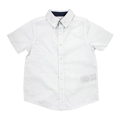 reputable site ed23e 6a3af Name it festliches weißes Kurzarm-Hemd für Jungen Nitsolid ...
