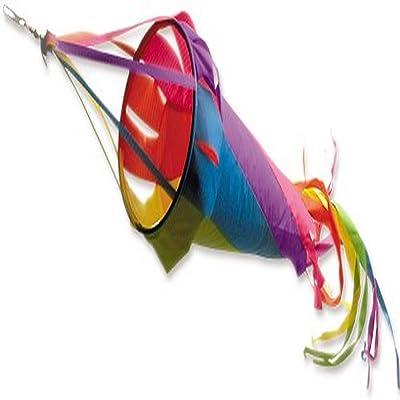 Premier Kites 22533 Wind Garden Spinsock, Circus, 48-Inch : Wind Socks : Garden & Outdoor