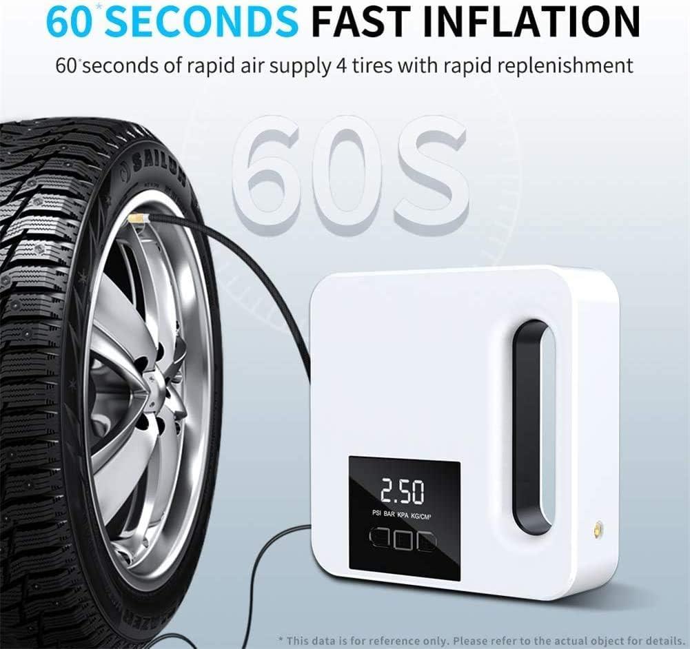 Inflador de neumáticos de coche con apagado automático Pantalla ...