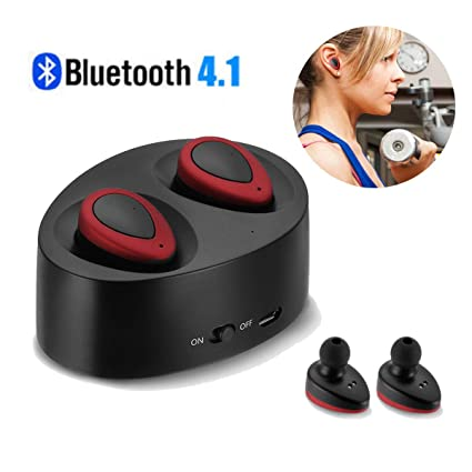1cd5d7b23bf Image Unavailable. Image not available for. Color: Wireless TWS Mini True  Bluetooth Twins Stereo in-Ear Earphone Headset Earbuds US