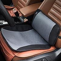 Viktor Jurgen Adjustable Vibration Massage Lumbar Pillow Back Support and Car Seat Cushion Massager