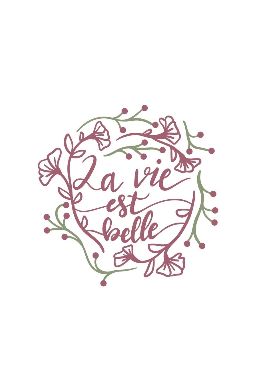 Download La Vie Est Belle: Life is Beautiful - 150 Lined Journal Pages Planner Diary Notebook ebook