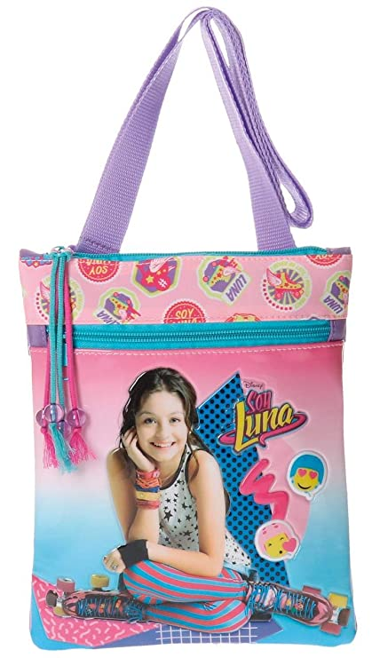 Amazon.com | Soy Luna Messenger Bag Purse Bag Two Pockets | Messenger Bags
