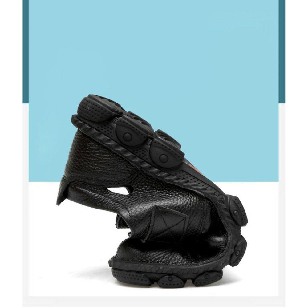 YXLONG 2018 Handgemachte Männer Sandalen Atmungsaktive Hohlen Schuhe Männer Casual Casual Casual Loch Coole Schuhe Herren Ledersandalen 76fb14