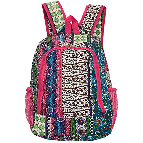 - World Traveler Multipurpose Backpack 16-Inch, Bohemian, One Size