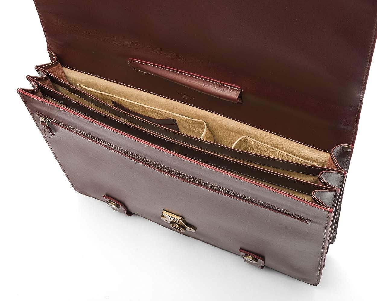 SAGEBROWN Edinburgh Briefcase