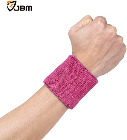 Mens Wrist Guard Band Brace Womens Sports Badminton Basketball Running Sweat