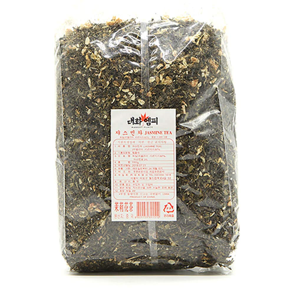 Daewha Jasmine Tea Bulk Loose Leaf, 1kg(2.2lb) (1 Pack)