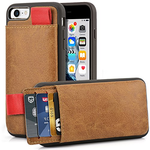 LAMEEKU Shockproof Leather Pockets Protective
