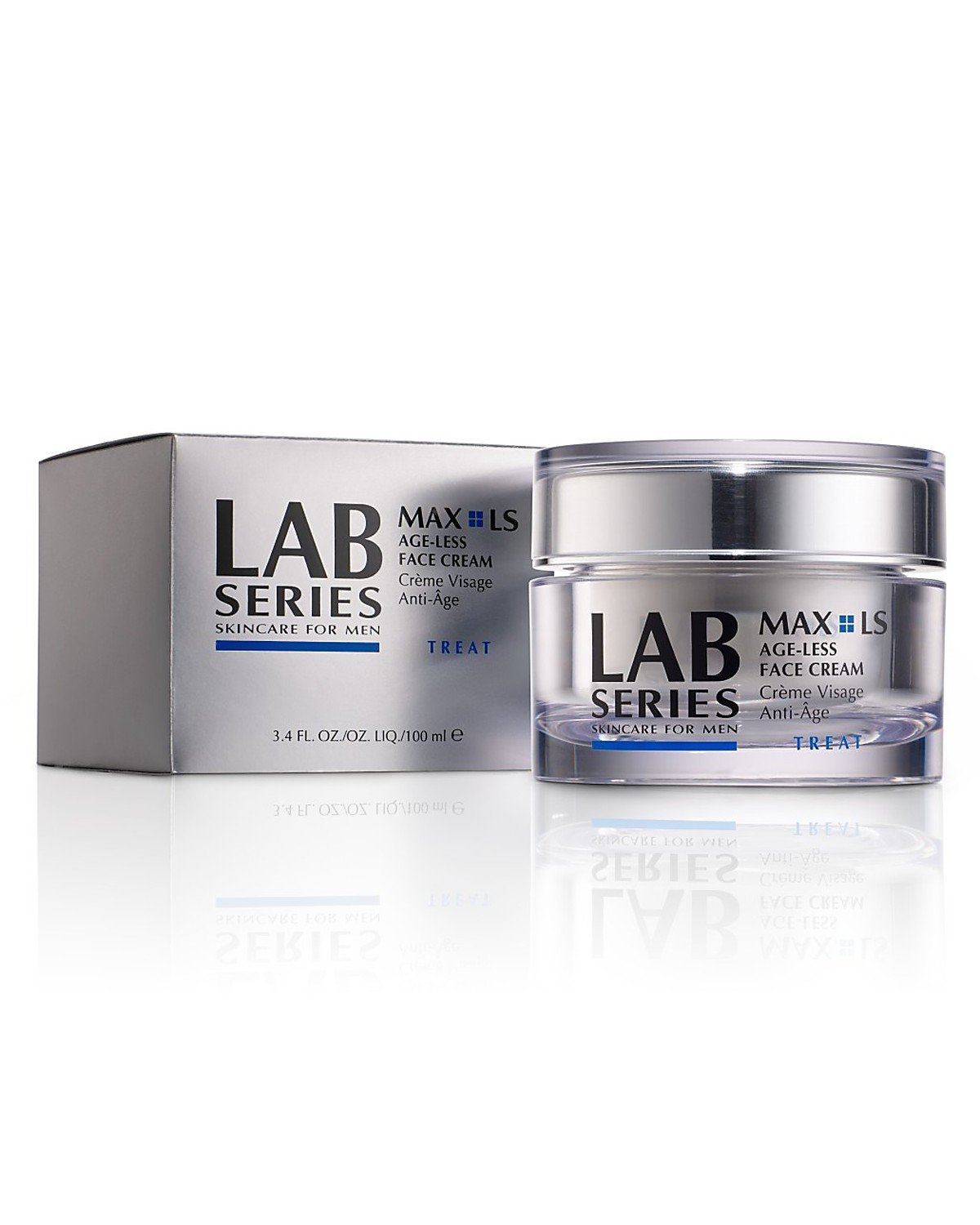 Aramis Lab Series Max LS Age-Less Power V Lifting Cream Simple Sensitive Skin Experts Oil Balancing Cleansing Wipes 25 ea (Pack of 4)