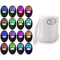 luz nocturna para baño inodoro PIR con Sensor de movimiento activado por movimiento , luz LED para baño, luz nocturna…