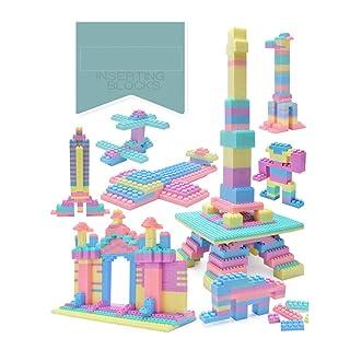 Gububi 60 Pezzi Building Block Classic Building Toy Blocks per i più Piccoli (Colore Casuale)