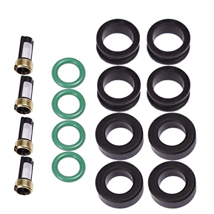 Fuel Injector Service Repair Kit Seals Filters O-Rings for Turbo 4G36T DSM CSKDO14 812-12102