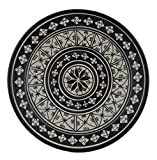 Product review for Ceramic Plates Moroccan Handmade Serving Wall Hanging Exquisite Colors Decorative 14 inches Diameter