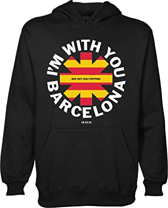 Red Hot Chili Peppers Barcelona España Camiseta Unisex Jersey ...