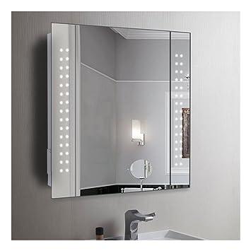 Panana Badzimmer Spiegelschrank Mit Led Licht Sensorschalter