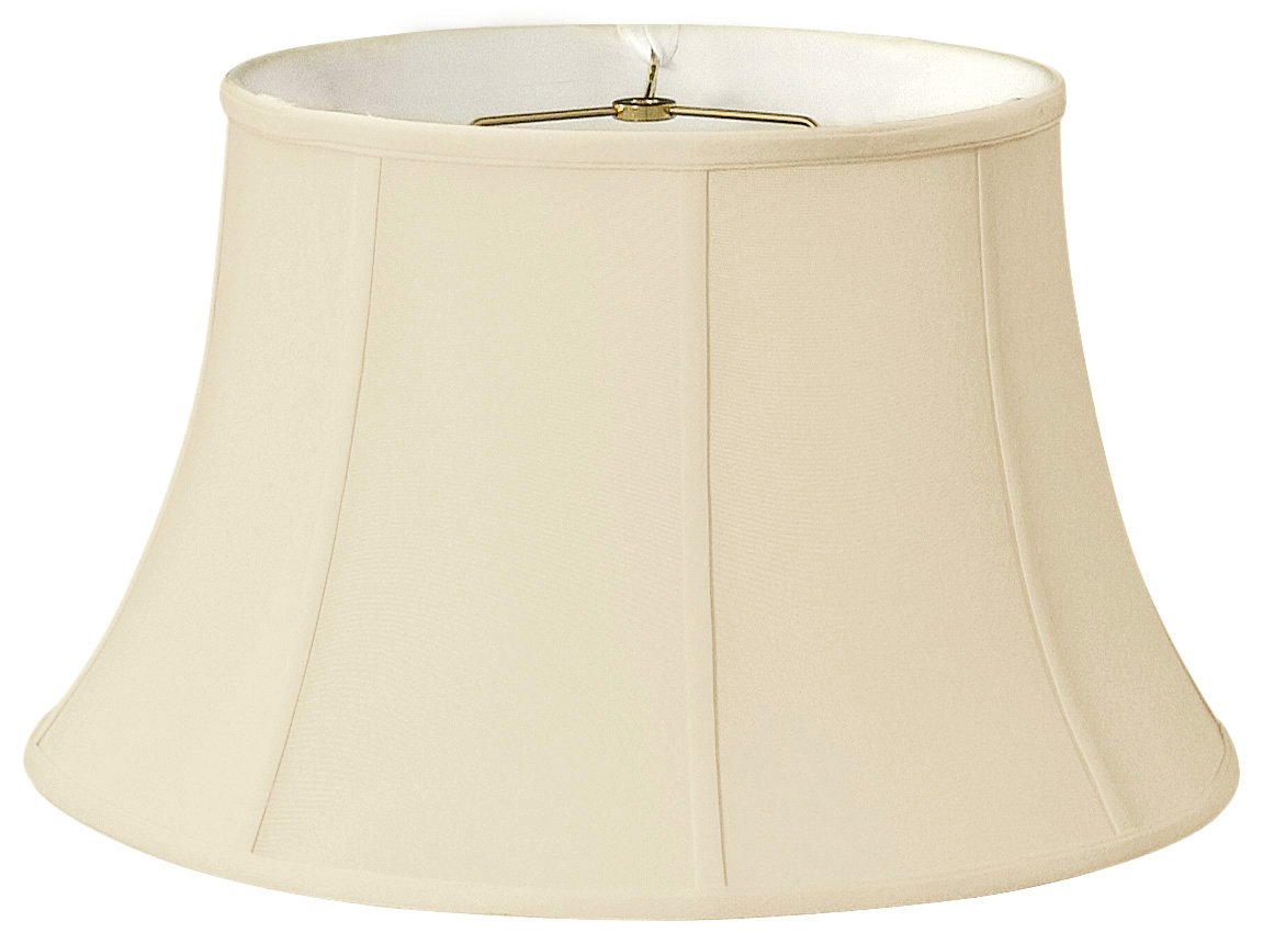 Royal Designs Shallow Drum Bell Billiotte Lamp Shade - Eggshell - 13 x 19 x 11.26 by Royal Designs, Inc