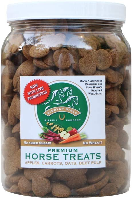 Giddyap Girls Premium Horse Treats & Cookies