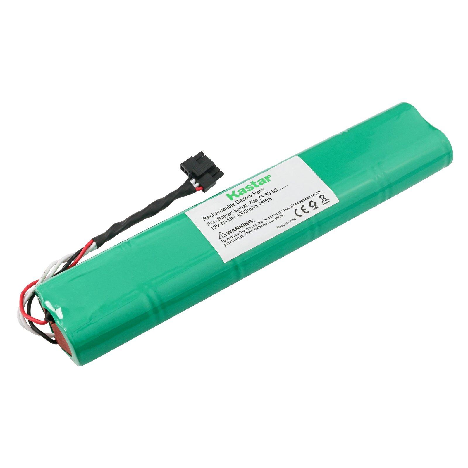 Kastar BOTVAC70e Battery (1 Pack), Ni-MH 12V 4000mAh, Replacement for Neato Botvac Series and Botvac D Series Robots Botvac 70e, 75, 80, 85 Robotic Vacuum Cleaner 945-0129 945-0174