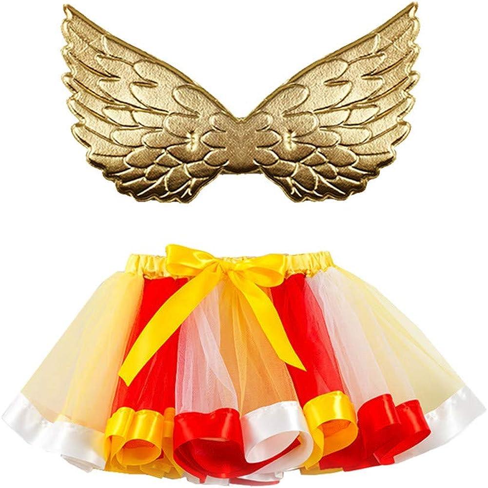 Falda Tul para Niñas Disfraz Colores Otoño PAOLIAN Falda Tutú ...