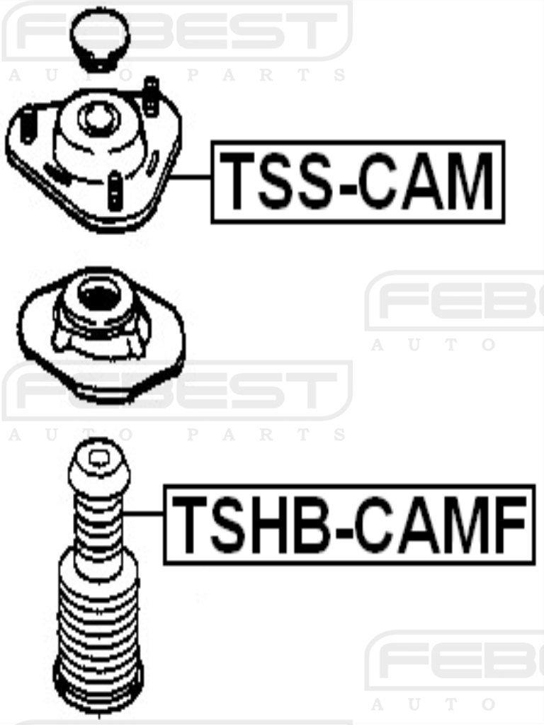 FEBEST TSS-CAM Front Shock Absorber Support