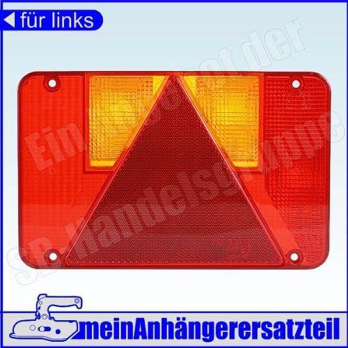 Lichtscheibe Ersatzglas Links Für Rückleuchte Rücklicht Radex 5800 5800 10 5901 Links Auto