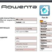 Rowenta Intense Pure Air Connect PU4080 - Purificador de Aire de ...