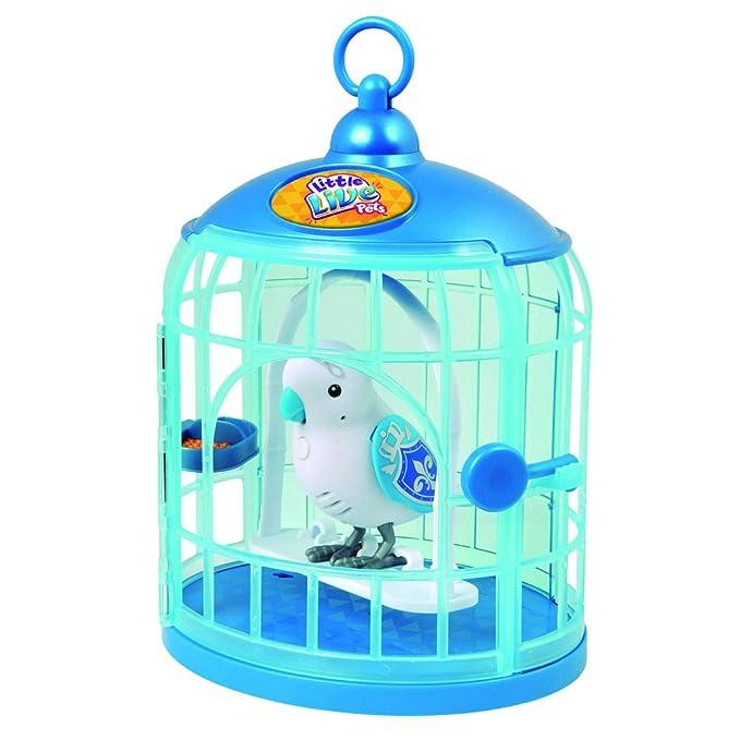 Amazon.es: little live pets Pajaritos parlanchines con su jaula ...