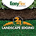 "EasyFlex Dimex 2 in 1 Plastic Landscape Edging Project Kit, 4.5"" Tall x 20-Feet (3310-20C-3)"