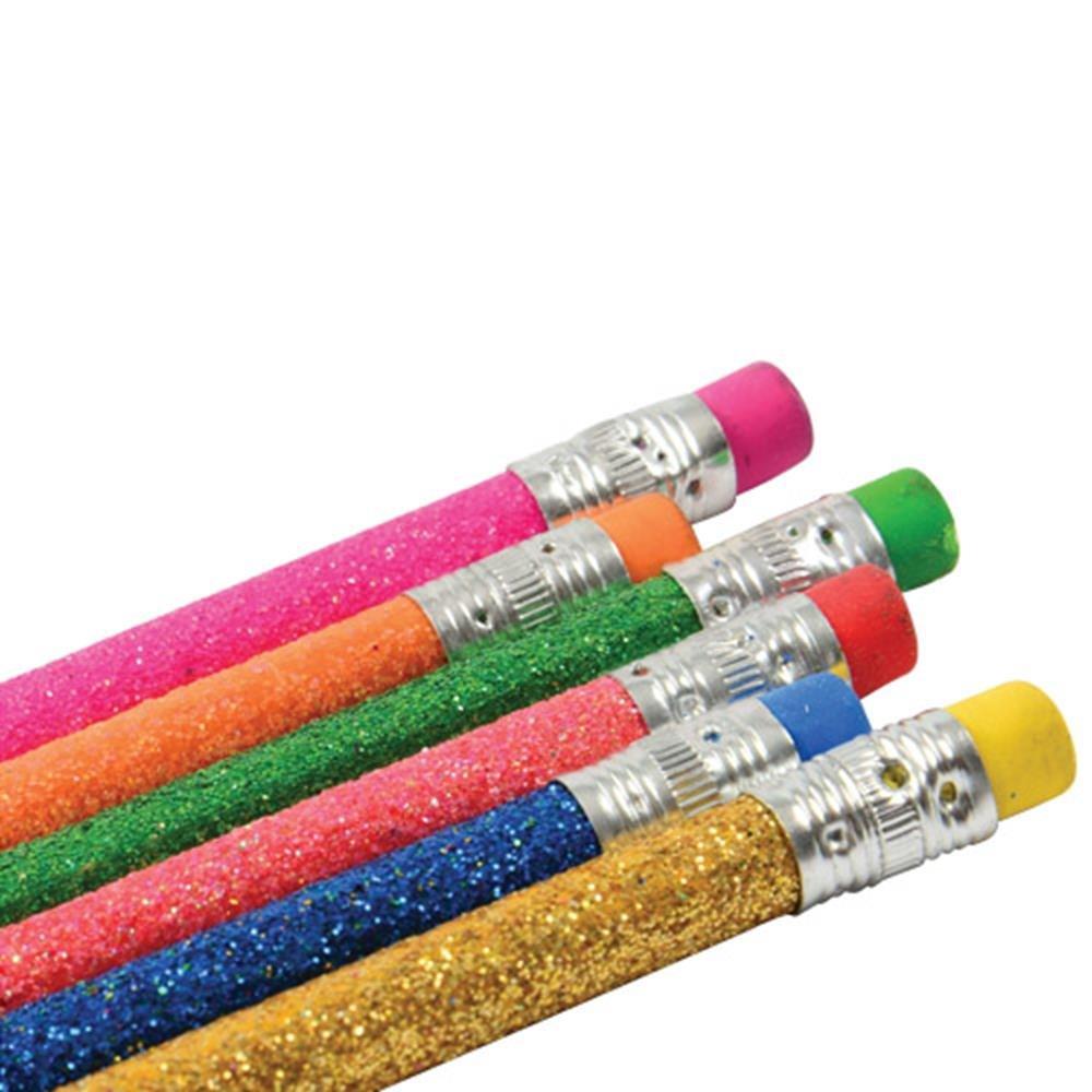 SS-UST-KA261 U.S Toy KA261 Glitter Pencils StealStreet Home