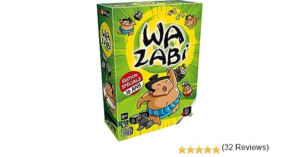 GIGAMIC gfws Juegos de Ambiance – Wazabi – Edition 10 años: Amazon.es: Juguetes y juegos