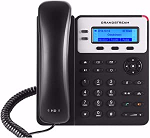 Grandstream GXP1620 Small to Medium Business HD IP Phone VoIP Phone and Device,Black